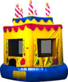 cake bounce house