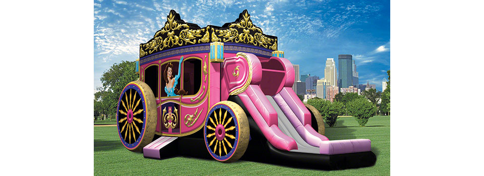 Princess-Carriage-bouncehouse-fs