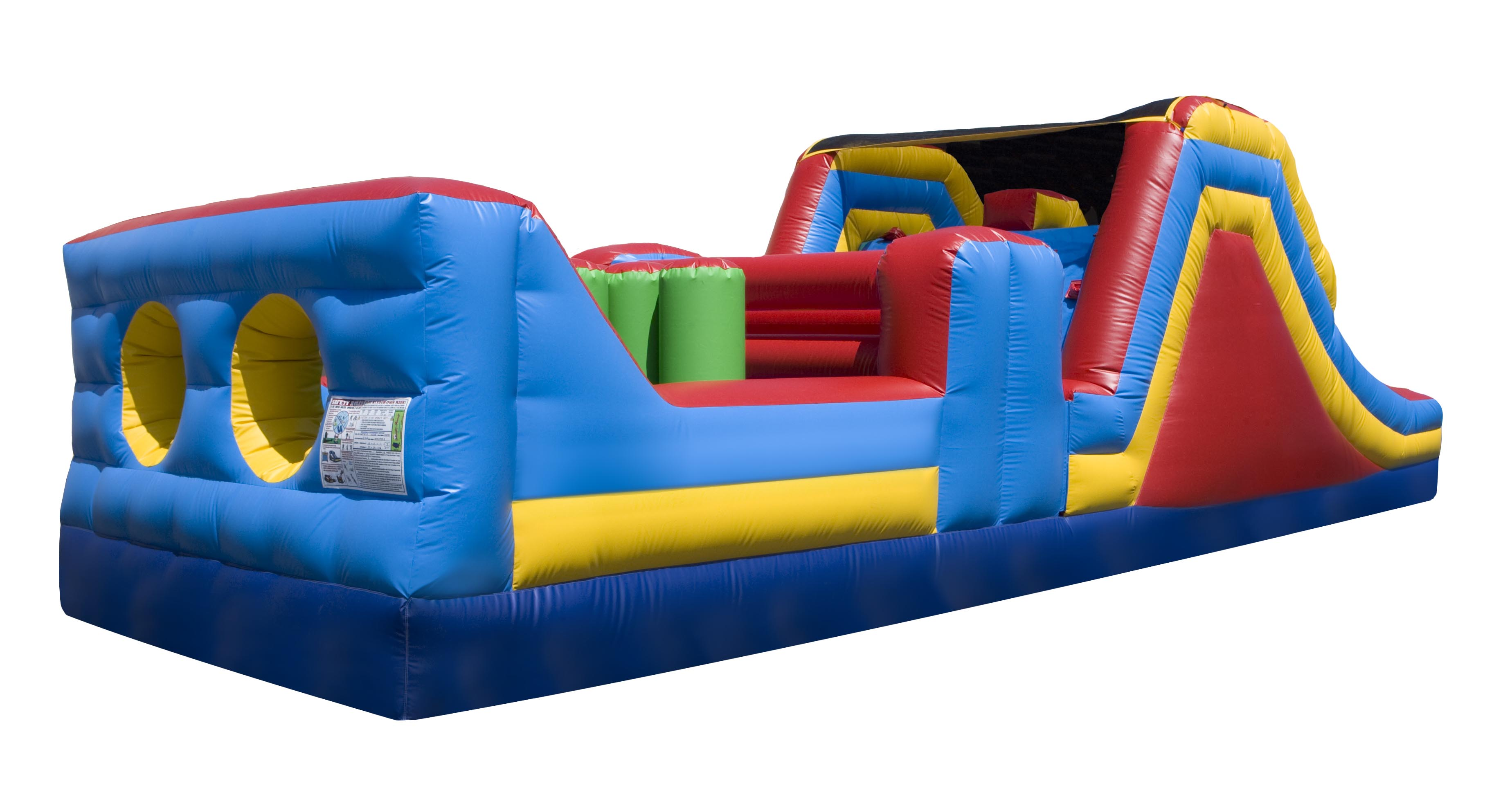 Obstacle Course Bounce On In Nj Event Rentals Call